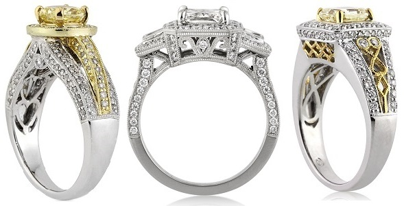 diamond ring details
